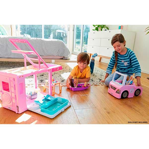 Barbie Caravana 3 en 1 de Barbie con Piscina - Imagen 2