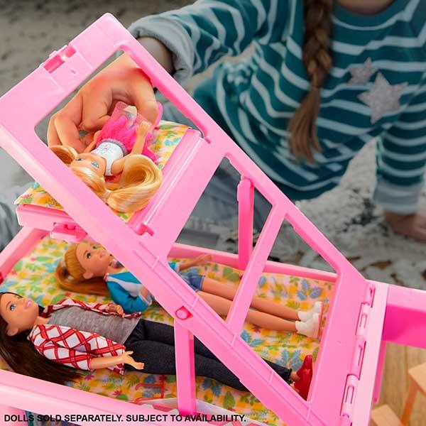 Barbie Caravana 3 en 1 de Barbie con Piscina - Imagen 3