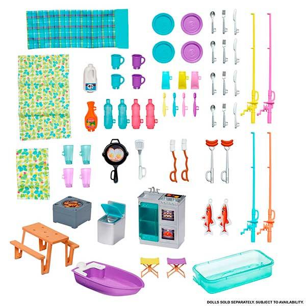Barbie Caravana 3 en 1 de Barbie con Piscina - Imagen 4