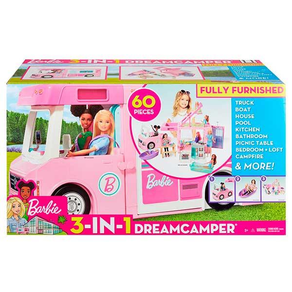 Barbie Caravana 3 en 1 de Barbie con Piscina - Imagen 5