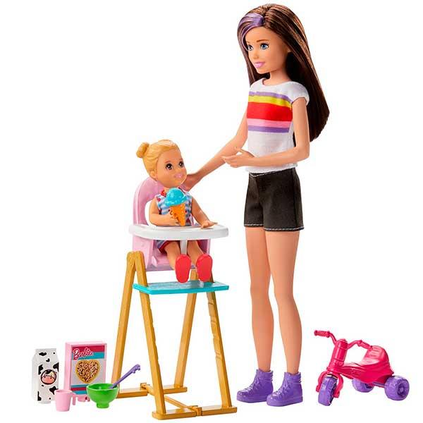 Barbie Muñeca Canguro con Trona - Imagen 1