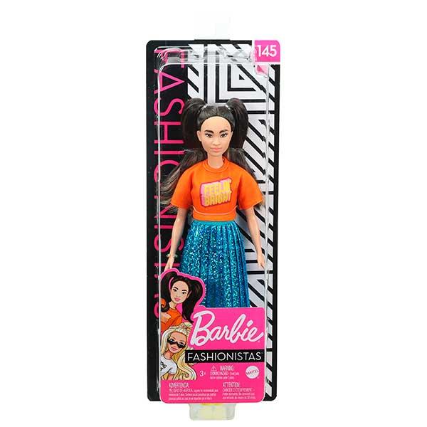 Barbie Muñeca Fashionista #145 - Imagen 3