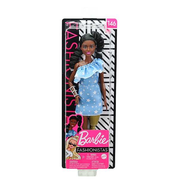 Barbie Muñeca Fashionista #146 - Imagen 5