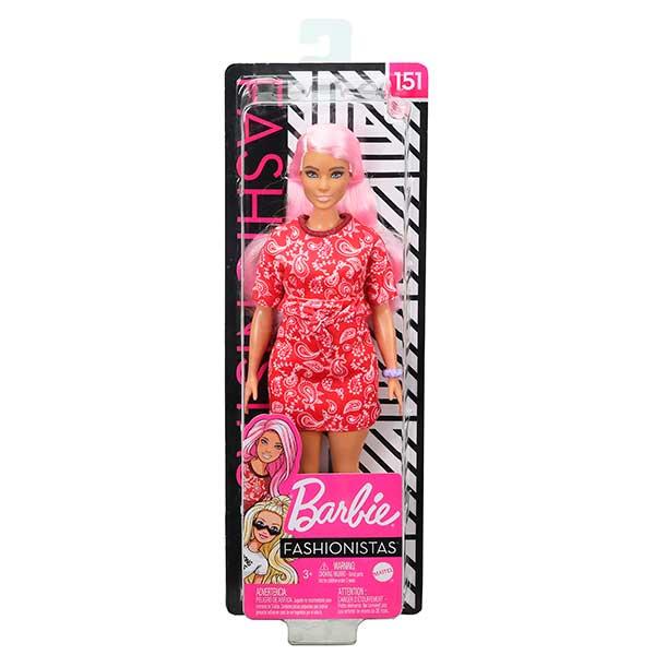 Barbie Muñeca Fashionista #151 - Imagen 2