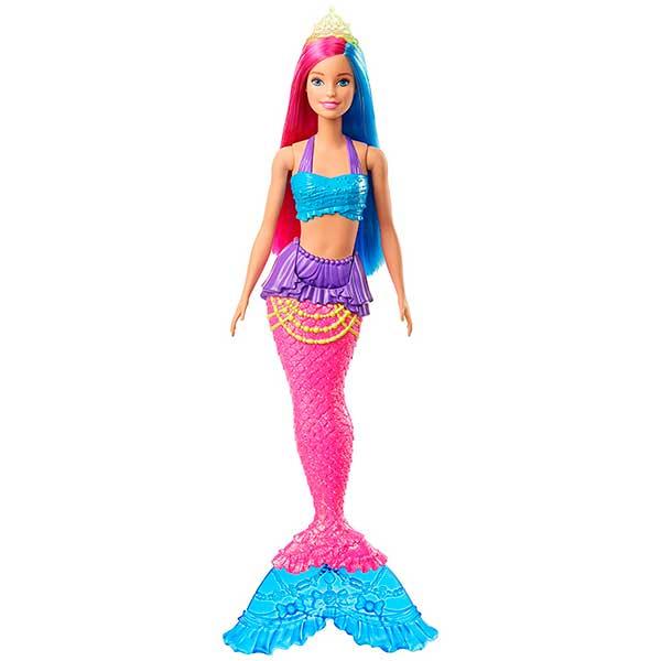 Muñeca Barbie Sirena Dreamtopia Brillos ArcoIris #1