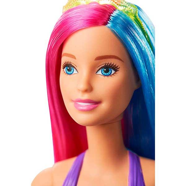 Muñeca Barbie Sirena Dreamtopia Brillos ArcoIris #1 - Imagen 1