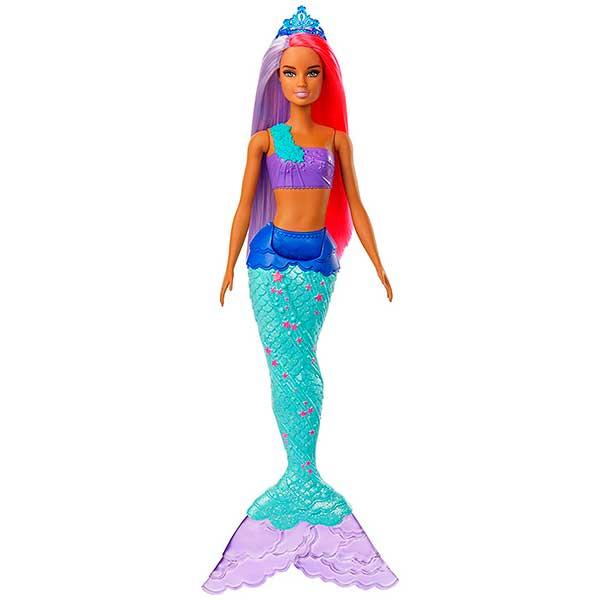 Muñeca Barbie Sirena Dreamtopia Brillos ArcoIris #2