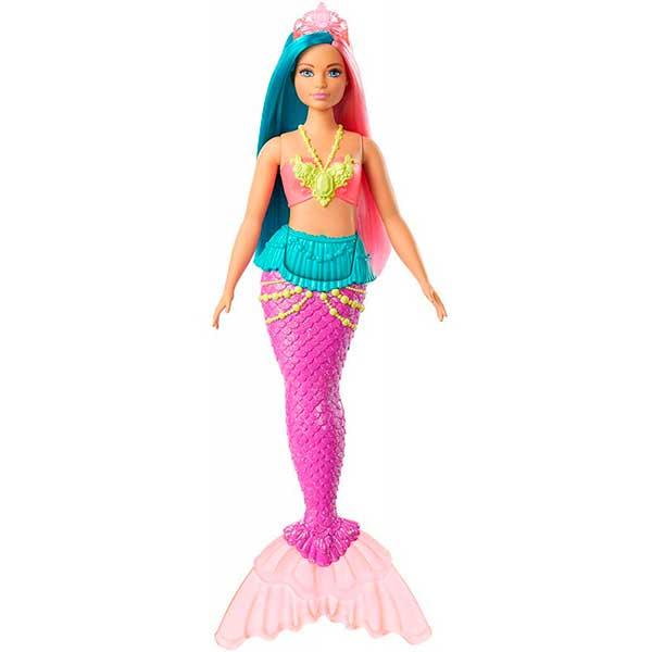 Muñeca Barbie Sirena Dreamtopia Brillos ArcoIris #4