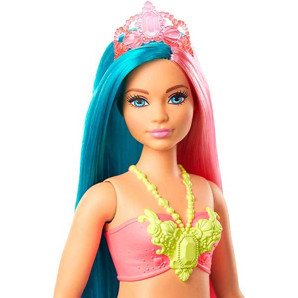 Muñeca Barbie Sirena Dreamtopia Brillos ArcoIris #4 - Imagen 2