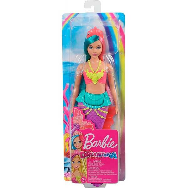 Muñeca Barbie Sirena Dreamtopia Brillos ArcoIris #4 - Imagen 3