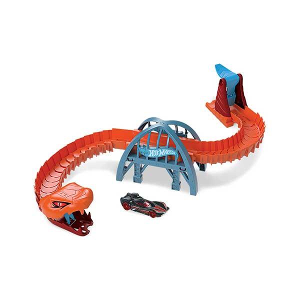 Pista Hot Wheels Serpiente Viper Attack