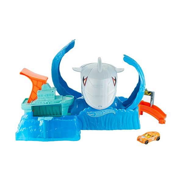 Pista Hot Wheels Robo Shark Frenetic