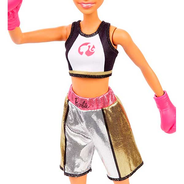 Muñeca Barbie Yo Quiero Ser Boxeadora - Imagen 1