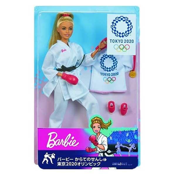 Muñeca Barbie Karateca Olimpiadas Tokyo 2020