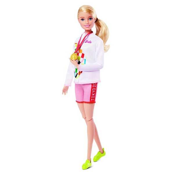 Muñeca Barbie Escaladora Olimpiadas Tokyo 2020 - Imagen 2
