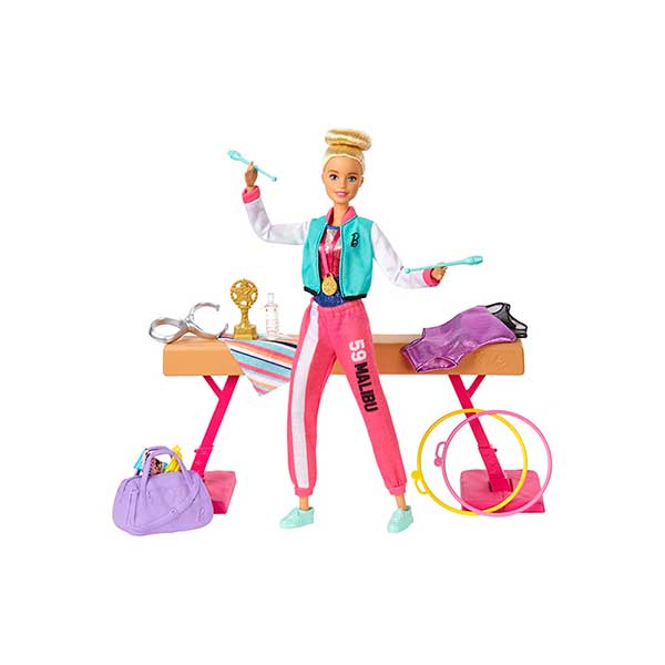 Muñeca Barbie Conjunto Gimnasia Tokyo 2020 - Imagen 1