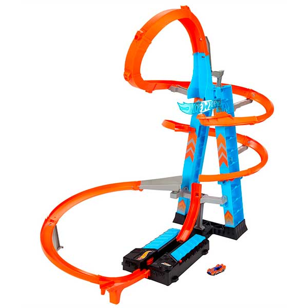 Hot Wheels Pista Torre de Choques Aéreos
