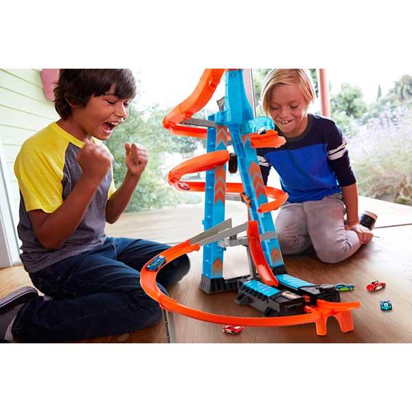Hot Wheels Pista Torre de Choques Aéreos - Imagen 3