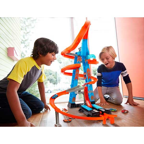 Hot Wheels Pista Torre de Choques Aéreos - Imagen 4