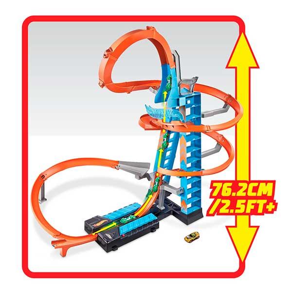 Hot Wheels Pista Torre de Choques Aéreos - Imagen 6