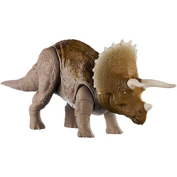 Jurassic World Figura Dinosaurio Triceratops Sonidos