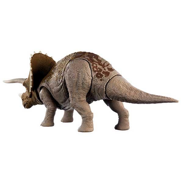 Jurassic World Figura Dinosaurio Triceratops Sonidos - Imagen 1