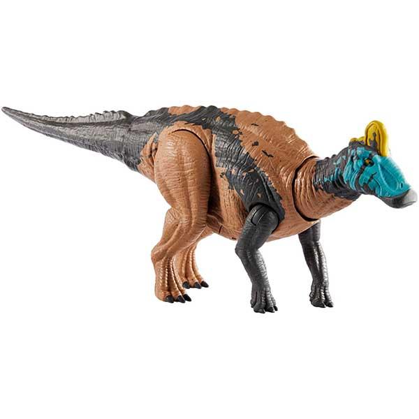 Jurassic World Figura Dinosaurio Edmontosaurus Sonidos y Ataques - Imagen 1