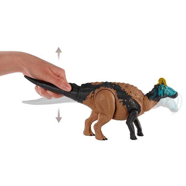 Jurassic World Figura Dinosaurio Edmontosaurus Sonidos y Ataques - Imagen 2