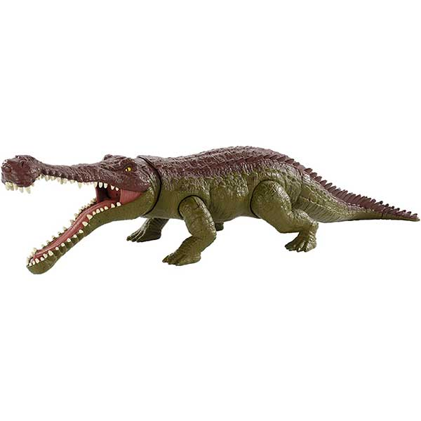 Jurassic World Figura Dinosaurio Sarcosucus Total Control