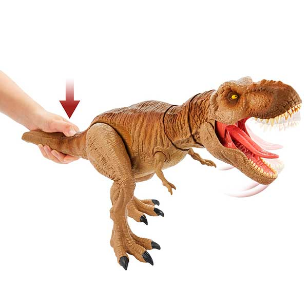 Jurassic World Figura Dinosaurio Tyrannosaurus Rex Épico 54cm - Imagen 3