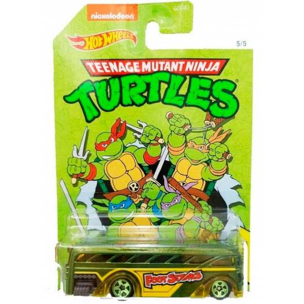 Coche Hot Wheels Party Van TMNT