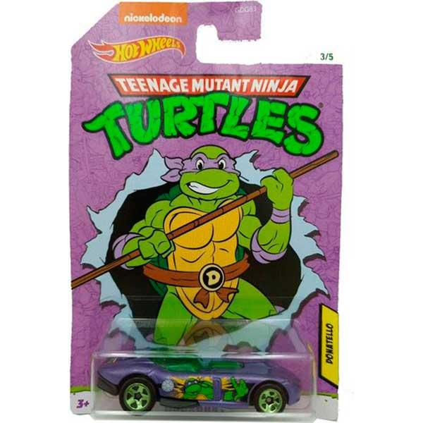 Coche Hot Wheels Roadster Donatello TMNT