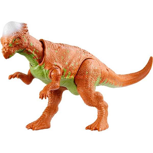 Jurassic World Figura Dinosaurio Pachycephalosaurus Ataque Salvaje