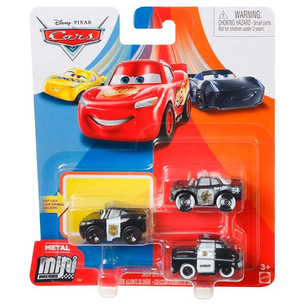 Cars Mini Racers Pack 3 Coches #1