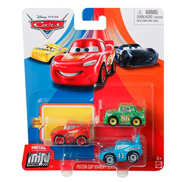 Cars Mini Racers Pack 3 Coches #4