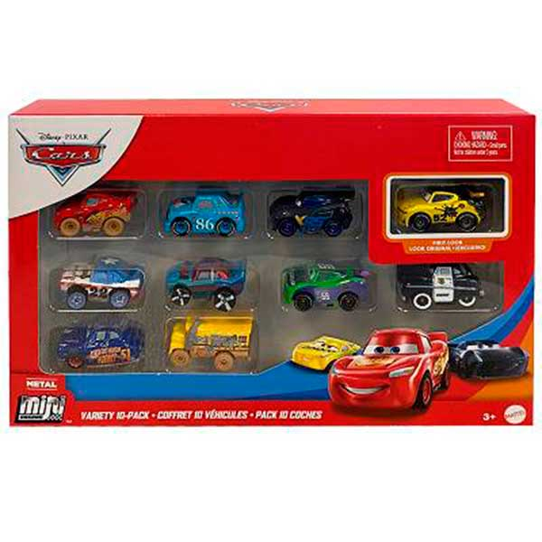 Cars Pack 10 Coches Mini Racers #5 - Imagen 1