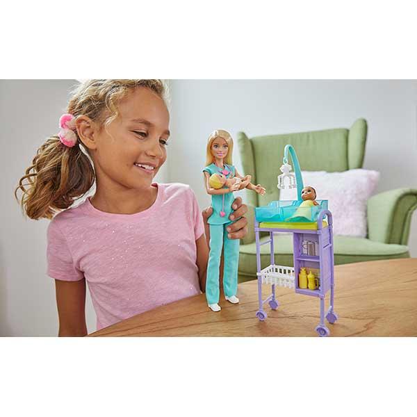 Muñeca Barbie Quiero Ser Pediatra - Imagen 1