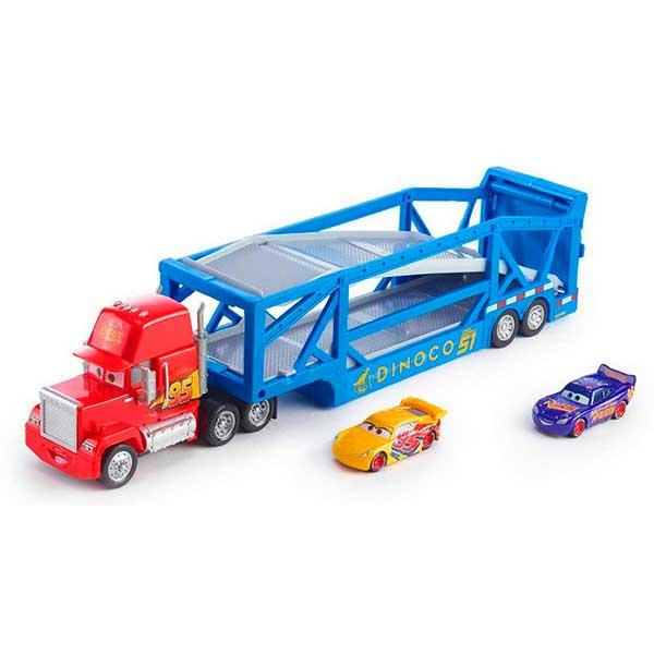 Cars Camión Transporte con 2 Coches
