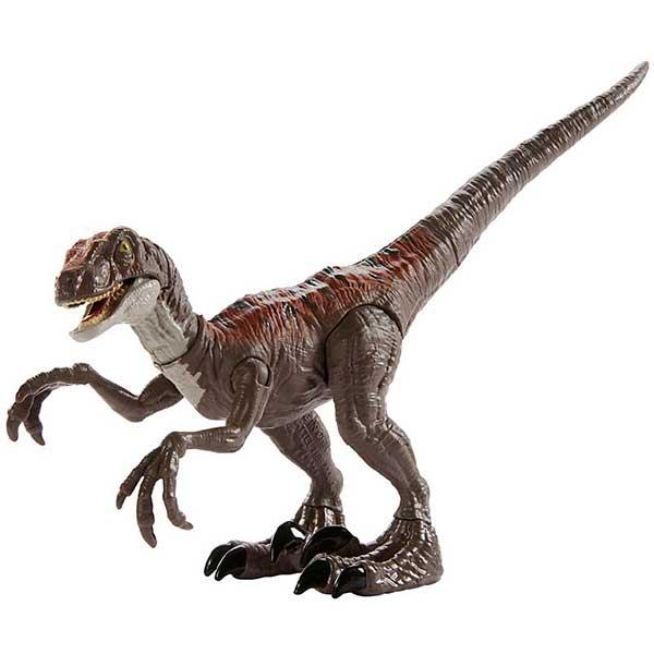 Jurassic World Figura Dinosaurio Velociraptor Echo Ataque Salvaje