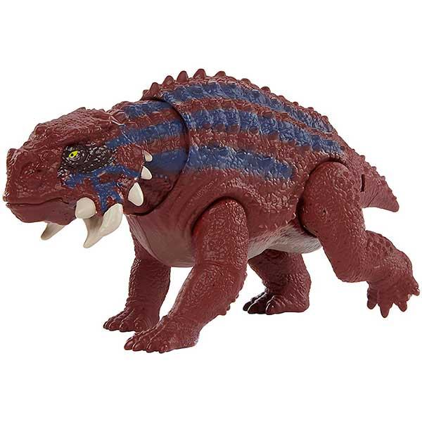Jurassic World Figura Dinosaurio Scutosaurus Ataque Salvaje