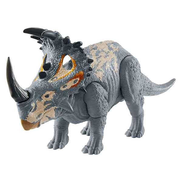 Jurassic World Figura Dinosaurio Sinoceratops Sonidos y Ataque