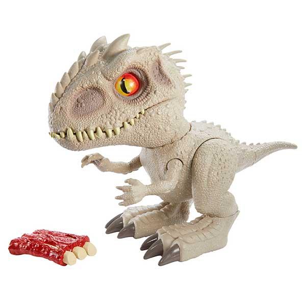 Jurassic World Figura Dinosaurio Indominus Rex Feeding Frenzy con Luces y Sonidos