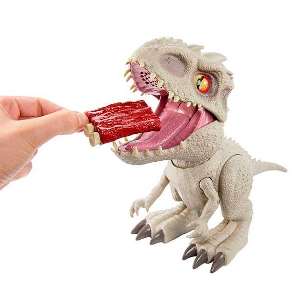 Jurassic World Figura Dinosaurio Indominus Rex Feeding Frenzy con Luces y Sonidos - Imagen 2