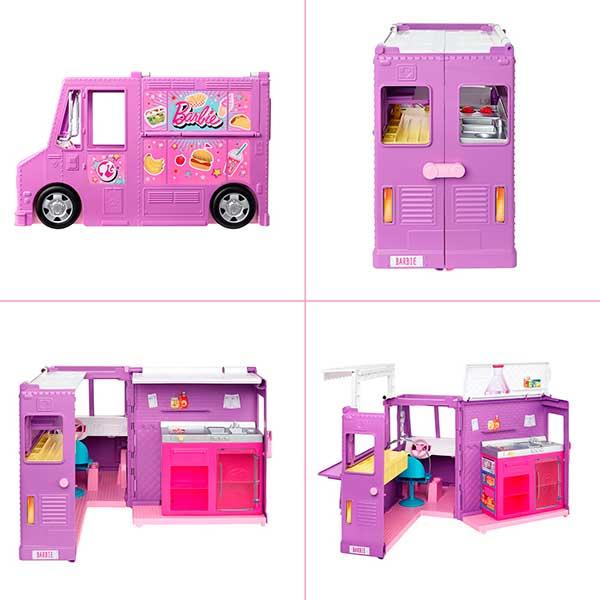 Barbie Furgoneta Food Truck - Imagen 1