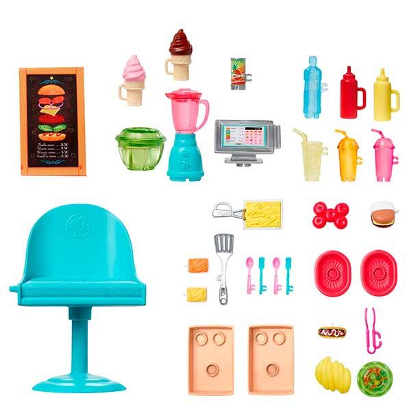 Barbie Furgoneta Food Truck - Imagen 2