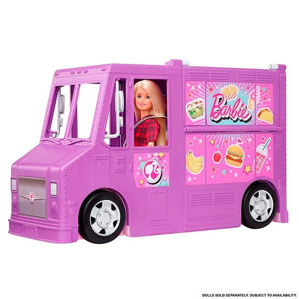 Barbie Furgoneta Food Truck - Imagen 3
