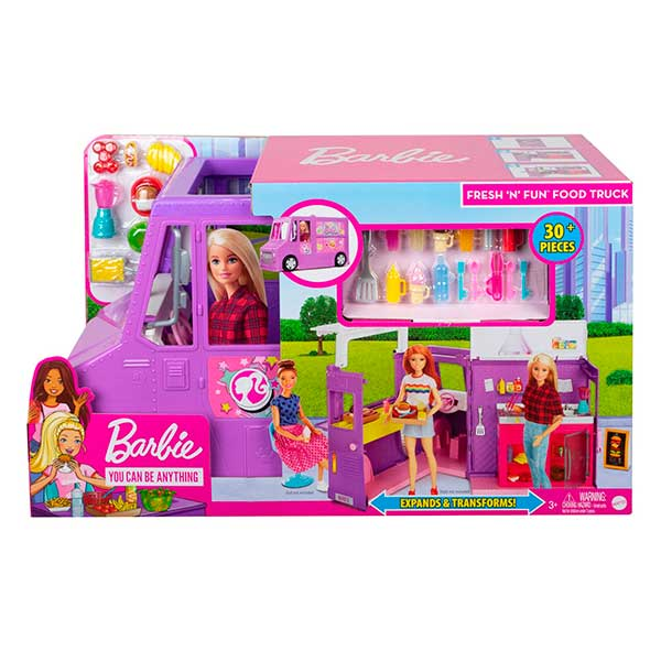 Barbie Furgoneta Food Truck - Imagen 4