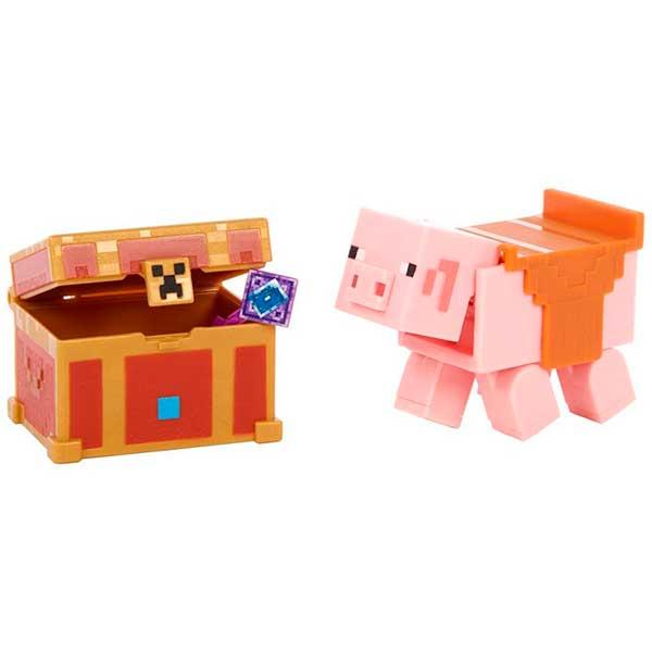 Minecraft Dungeons Figura Piggybank - Imagen 1
