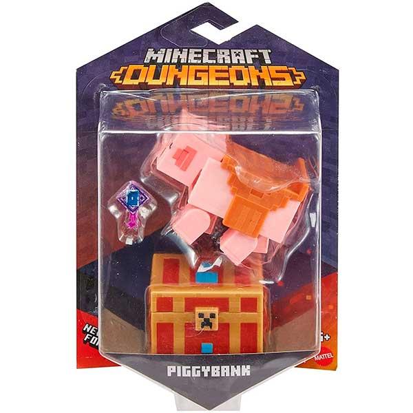 Minecraft Dungeons Figura Piggybank - Imagen 2