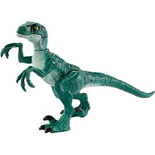 Jurassic World Figura Dinosaurio Velociraptor Delta Ataque Salvaje